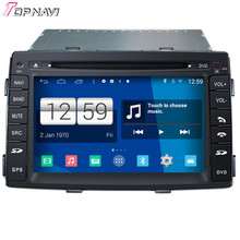 Newest Quad Core S160 Android 4.4 Car DVD Player For Sorento With 16GB Flash Mirror Link Bluetooth Wifi GPS DHL Free Shipping