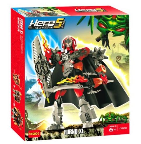Decool Super Hero Factory 5.0 Furno XL 10288 Building Blocks Sets 103pcs Legoland Action Figures DIY Construction Bricks Toys(China (Mainland))