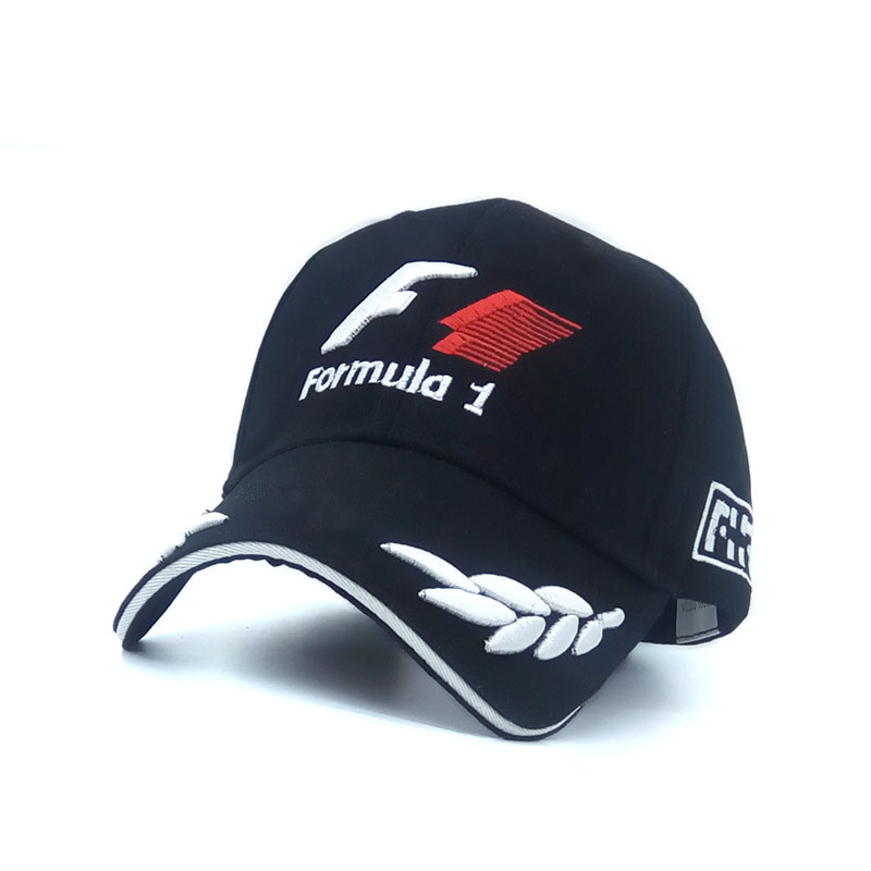 formula 1 baseball caps cheap embroidery outdoor world font racing mercedes cap
