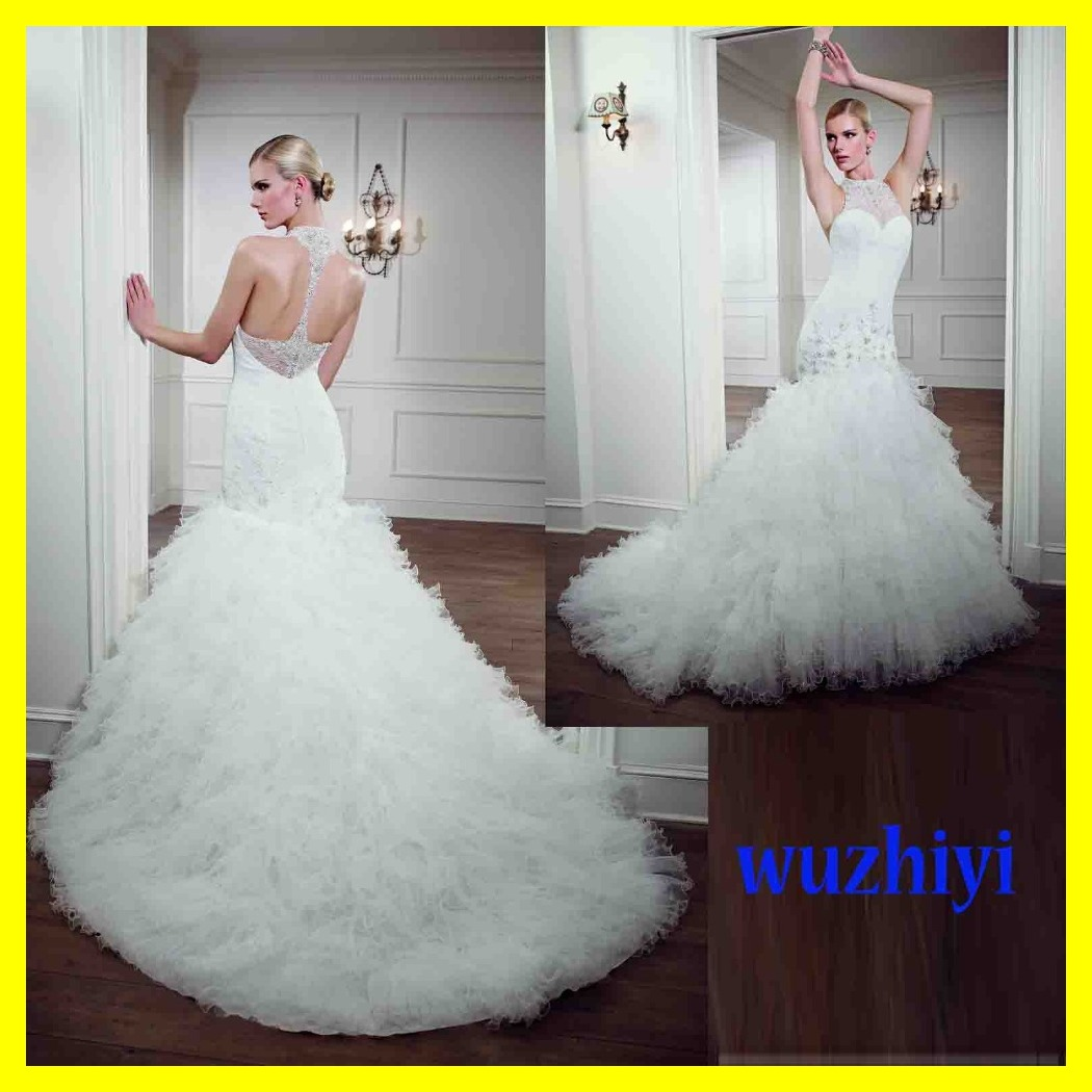 Cheap short wedding dresses vintage off white informal for White wedding dress cheap