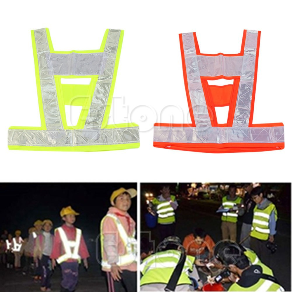 Hi Vis High Viz Visibility Vest Waistcoat Jacket Safety Security Reflective Coat-Y103(China (Mainland))