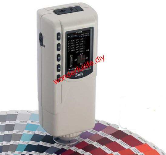New NR110 Portable Precision Colorimeter Color Tester 4mm Diameter Measuring Aperture<br><br>Aliexpress