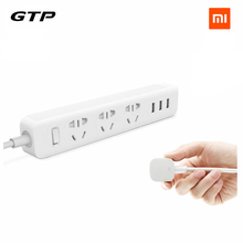 Buy Newest 100% Original Xiaomi Power Strip Outlet Socket 3 USB Extension Socket Plug Socket AU Standard Socket for $14.81 in AliExpress store