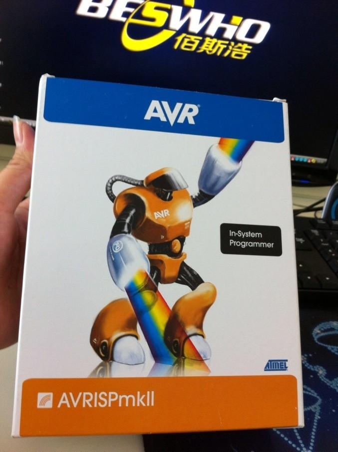 Free Shipping AT AVRISP mkII AVRISPMKII ATAVRISP2 Downloader genuine original(China (Mainland))