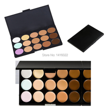 Hot 2 style Concealer Neutral Palette 15 color makeup tools scar cream care Camouflage camouflage contouring concealer new brand(China (Mainland))