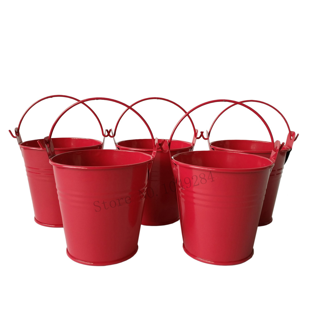 Christmas pails promotion shop for promotional christmas for Christmas tin pails