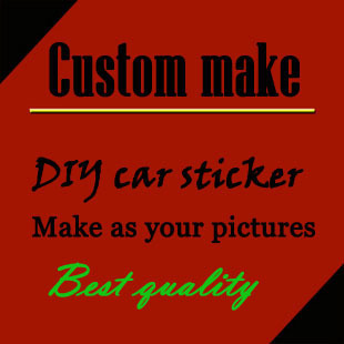 Free design custom make company advertising/ motorists' club logo car stickers and decals,die cut car adhesive vinyl styling(China (Mainland))