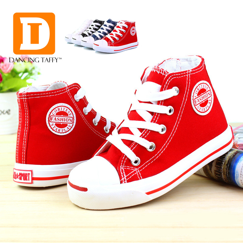 2016 brand shoes boys classic canvas sneaker