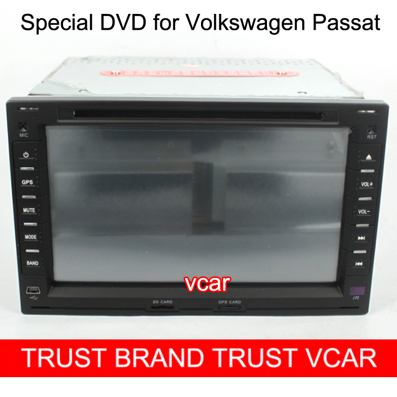 Free Gifts + HD 7 Inch Special Car DVD Player VW PASSAT GPS Function - Guangzhou Vcar Auto Accessories Businesses store