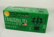 3 ballerina tea fat remove tea quick slim tea weight loss product herbal tea wholesale free shipping