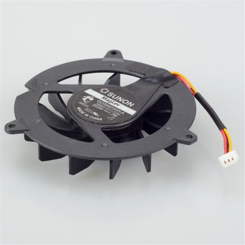 Notebook Computer Processor Cooling Fan Replacement Fit For ACER Aspire 3050 GC055515VH-A Series Laptop Cpu Cooler Fan F0260 P72(China (Mainland))