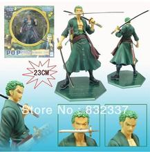 One Piece High Quality New World Two Years Later the New World Roronoa Zoro PVC Japanese Anime Figures Free