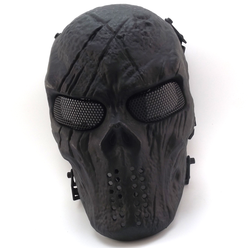 New Skull Skeleton Army Airsoft Tactical Paintball Full Face Protection Mask(China (Mainland))