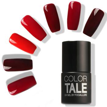12 Colors 12ML Win Red Series 12 Colors Pick 1 UV Gel Nail Varnish Nail Gel Polish Gel LED UV Nail Art Manicure by Focallure