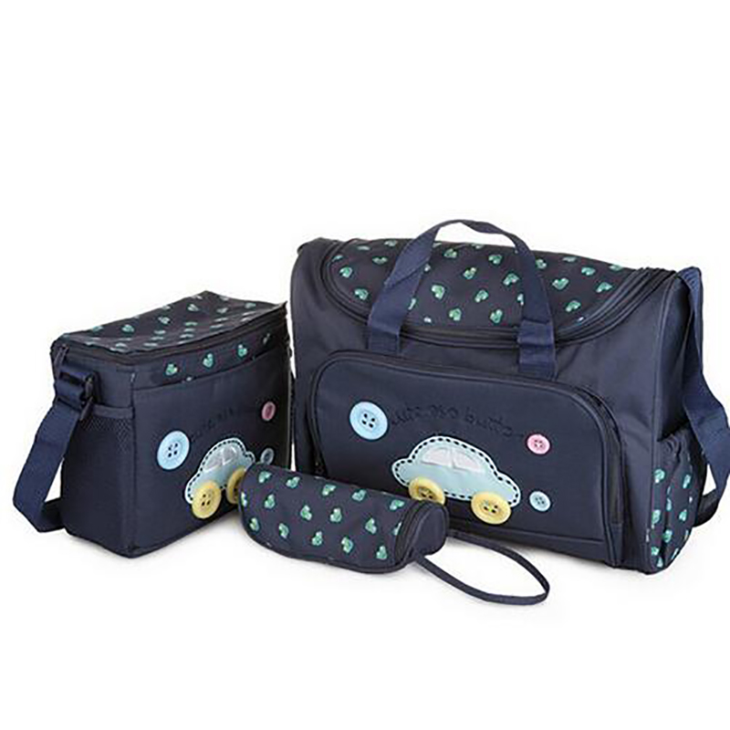 (Buy 1 gets 3) Wholesale Baby Diaper Bag For Stroller Nappy Handbags baby Bag Mummy Bags Nappy Changing Tote Shoulder Bags(China (Mainland))