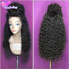 7A Kinky Curly Full Lace Human Hair Wigs For Black Women Unprocessed Brazilian Virgin Hair Full Lace Wig Glueless Lace Front Wig(China (Mainland))