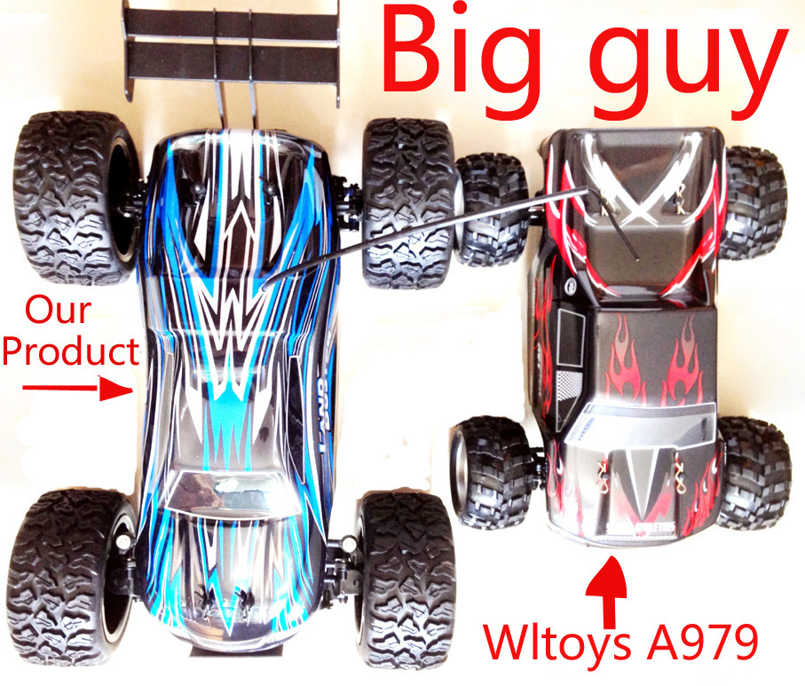2.4G 4CH 4WD Shaft Drive RC Car High Speed Stunt Racing Car Remote Control Super Power Off-Road Vehicle VS Wltoys 1:12 A979(China (Mainland))