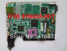 518432-001 Laptop motherboard for HP DV6 motherboard 518432-001 INTEL Independent graphics card 100%Tested and working properly(China (Mainland))
