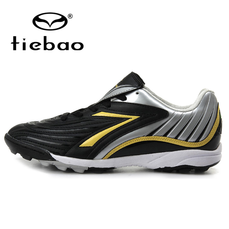 TIEBAO Professional Men Women TF Turf Sole Football Boots Outdoor Soccer Shoes Athletic Training Sports Shoes zapatos de futbol(China (Mainland))