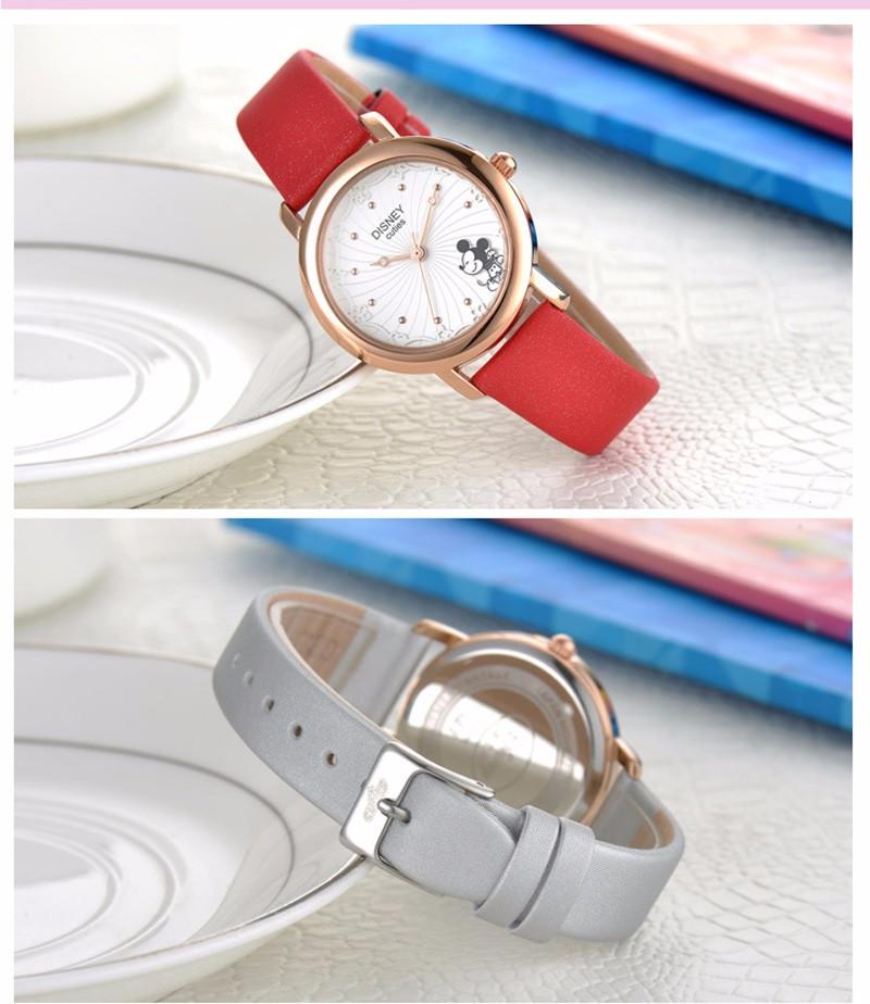 Disney 2016 Наручные Часы Дамы Наручные Часы Женщины Бренд Знаменитые Часы Кварцевые Часы Девушка мультфильм Кварцевые часы Relogio Feminino