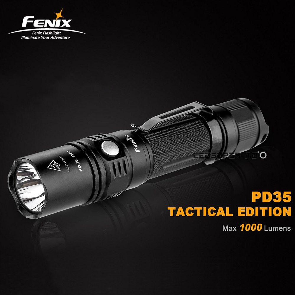 Hot New Products 2015 FENIX PD35 TAC Edition 1000 Lumens LED Tactical Flashlight Rifle Lights with 2-year Warranty(China (Mainland))
