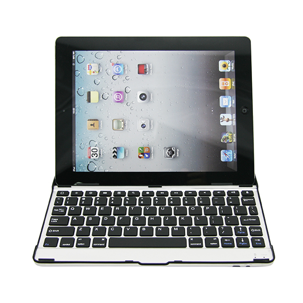 Mini Wireless Keyboard Aluminum alloy Keyboard for Tablet PC Android TV For IOS For Ipad 234 New Professional 2092(China (Mainland))