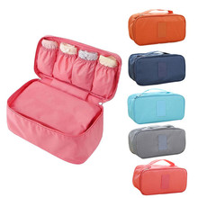 Durable 2015 New Fashion Women Travel Bra/Underwear/Lingerie/Cosmetic/Makeup Storage box Fast Shipping(China (Mainland))