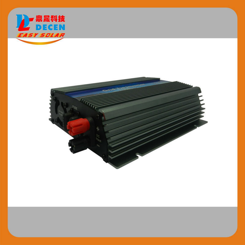 DECEN@ 10.5-30Vdc 500W Solar Grid Tie Pure Sine Wave Power Inverter Output 90-140Vac,50Hz/60Hz, For Home Solar System(China (Mainland))