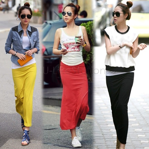 How to wear a pencil maxi skirt – Modern skirts blog for you