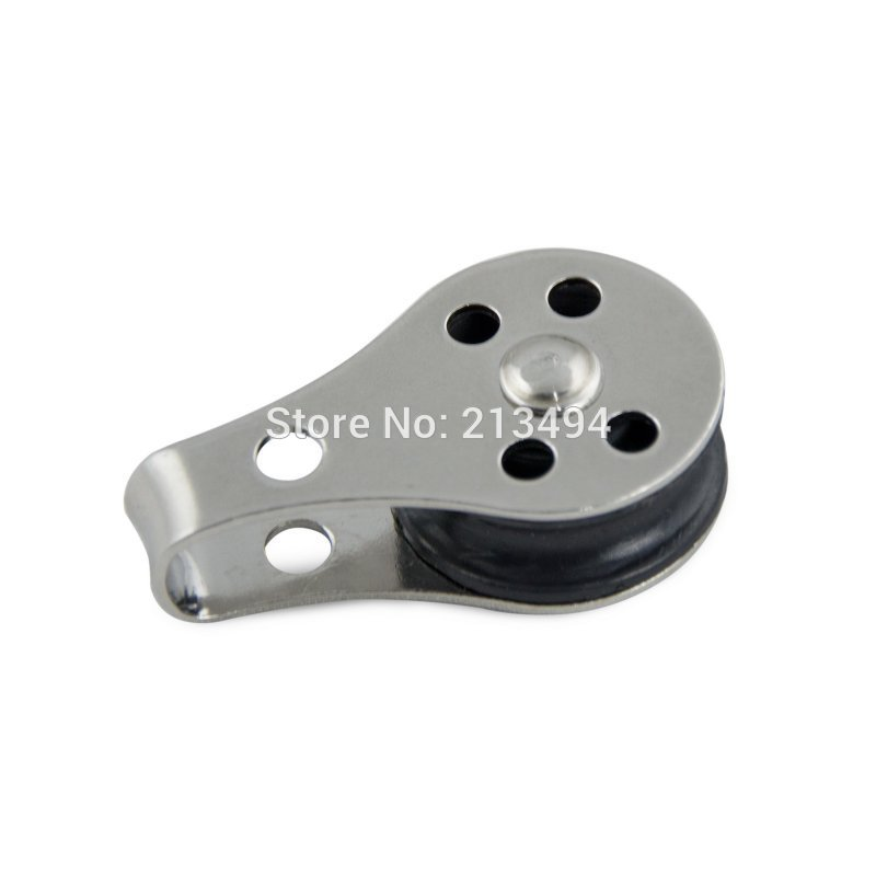 Small Nylon Sheave Marine Stainless Boat Pulley For Kayak Anchor Trolley System(China (Mainland))