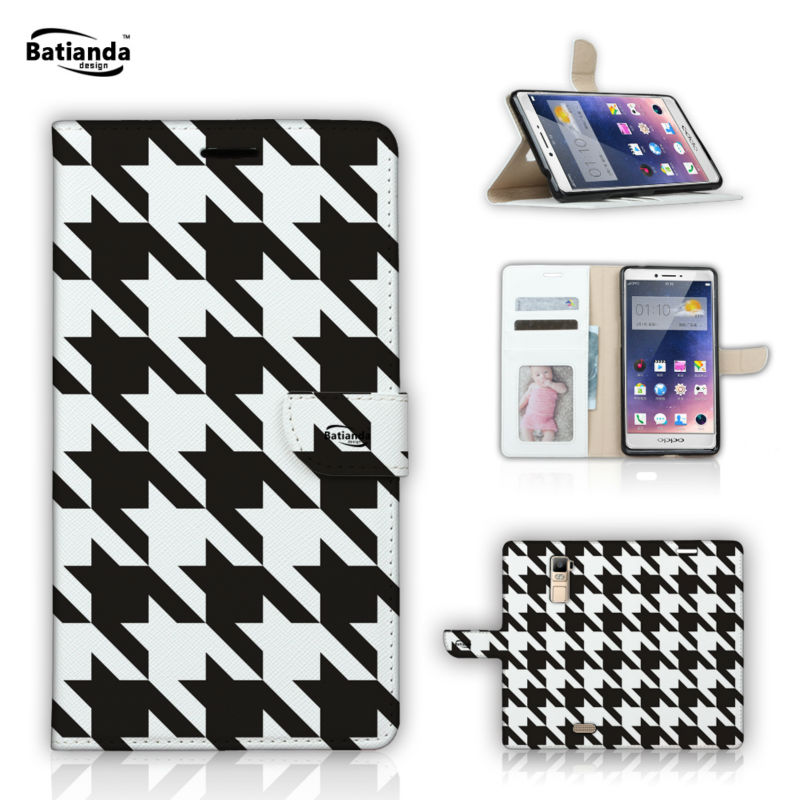 Phone Cases For OPPO R7S 5 5 PU Leather Flip Stand Wallet Case For OPPO R7S