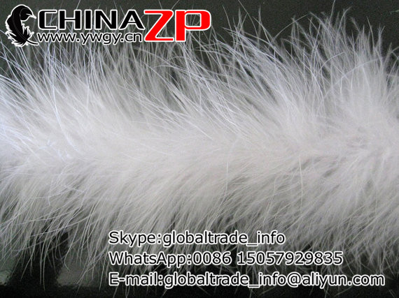 Wholesale and Retail from Factory www.ywgy.cn 20g per piece White Marabou feathers boa(China (Mainland))