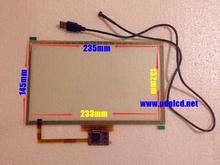 """D'origine nouvelle 10.2 """" pouces emr4822012a - t101mt tactile capacitif panneau de numériseur écran pour XP WIN7 WIN8 système + USB plug and play(China (Mainland))"""