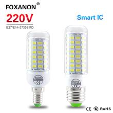 Real Kein Flimmern Lange Lebensdauer Gesundheit FÜHRTE Mais lampe E27 E14 220 V 230 V 24-89 LEDs scheinwerfer-birne mit SAMRT IC Driver Power licht(China (Mainland))