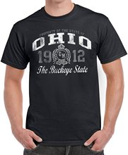 Buy Customize Tee Shirts Print Cotton Short Sleeve Tee Shirt OHIO 1912 State Novelty USA T Gift Ideas O-Neck T Shirt Men T-Shirt for $11.99 in AliExpress store