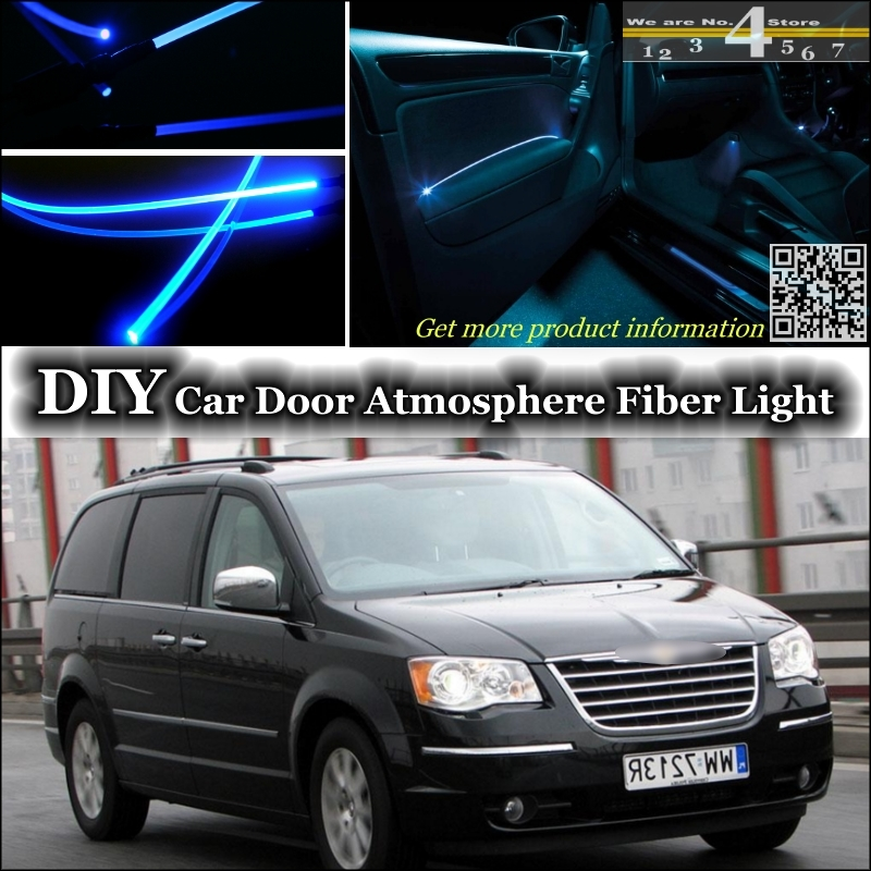 interior Ambient Light Tuning Atmosphere Fiber Optic Band Lights For Chrysler Voyager For Lancia Voyager Door Panel illumination<br><br>Aliexpress
