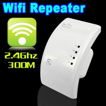 300M Wireless Wifi Repeater 802.11N/B/G Network Router Expander W-ifi Antenna Wi fi Roteador Signal Amplifier US/EU Plug