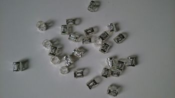 Free Shipping 100Pcs/Lot Silver Plated Hair Dreadlock Bead Cuff Clip