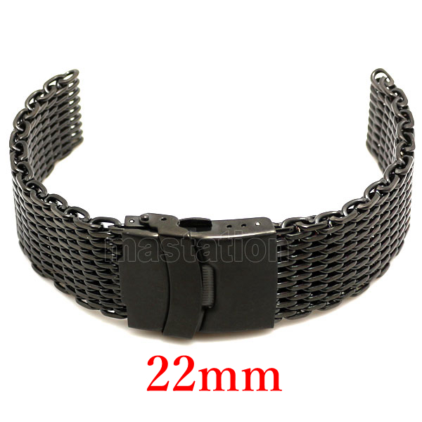 Watch Strap 22mm Band Stainless Steel Bracelet Women Men banda de reloj GD010922 - Guangzhou Conbays Technology Co., Ltd. store
