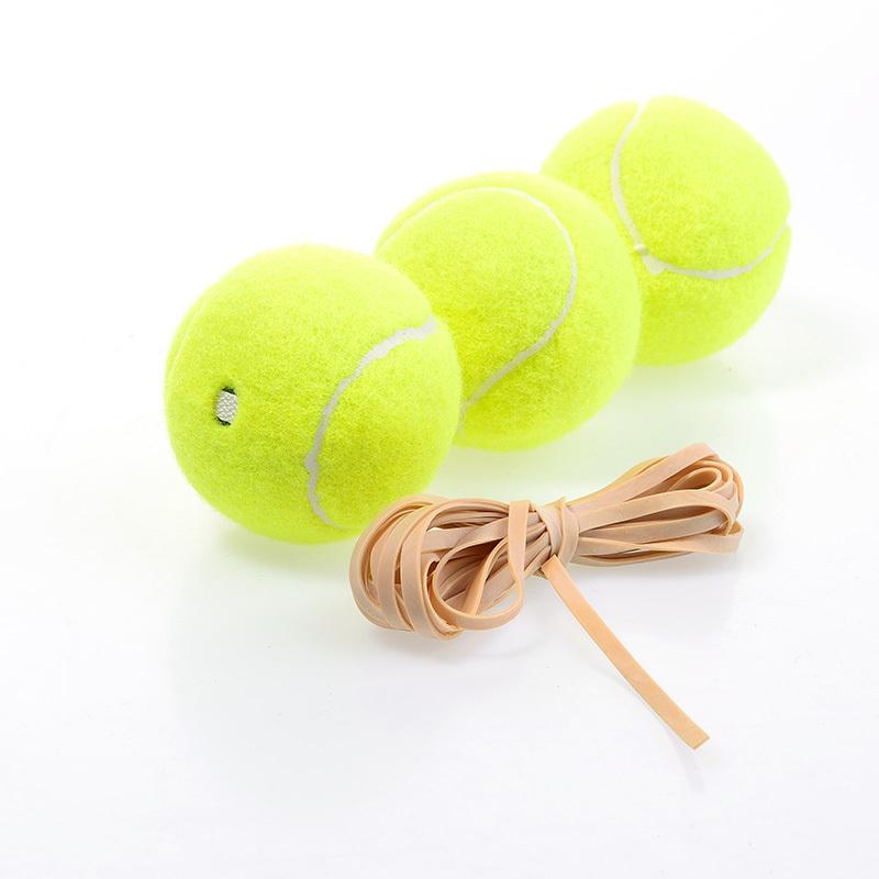 Tennis Ball Vibradores Tenis string Training Ball Good Elasticity Chemical Fiber Rubber 63.5mm-67.5mm Rebounced High 3pcs Sport(China (Mainland))