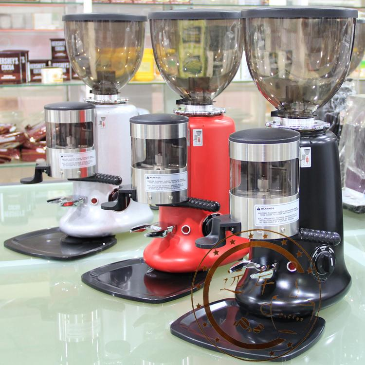 Kaffa commercial professional italian grinder coffee beans electric grinding machine kf600 red black silver<br><br>Aliexpress