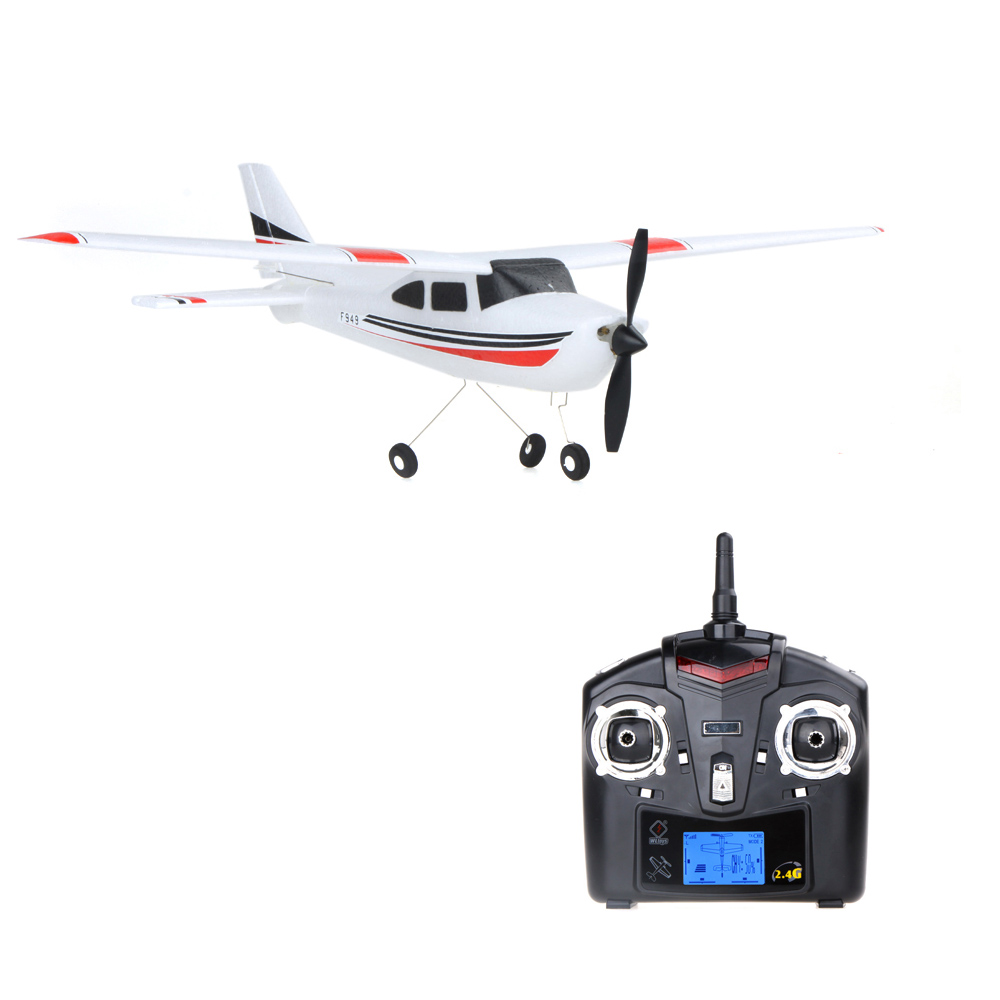 F949 2.4G 3 Coreless Motors RC Airplane Long Distance Flying Fixed Wing Plane Outdoor Drone Remote Control helikoptero kid Toys(China (Mainland))