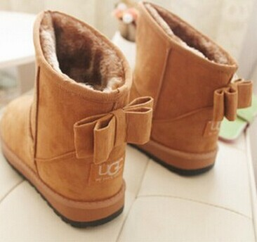 Eur Size:34--43!Free shipping!NEW fashion fur inside women Winter Snow Boots butterfly section High Increased women Boots Shoes(China (Mainland))
