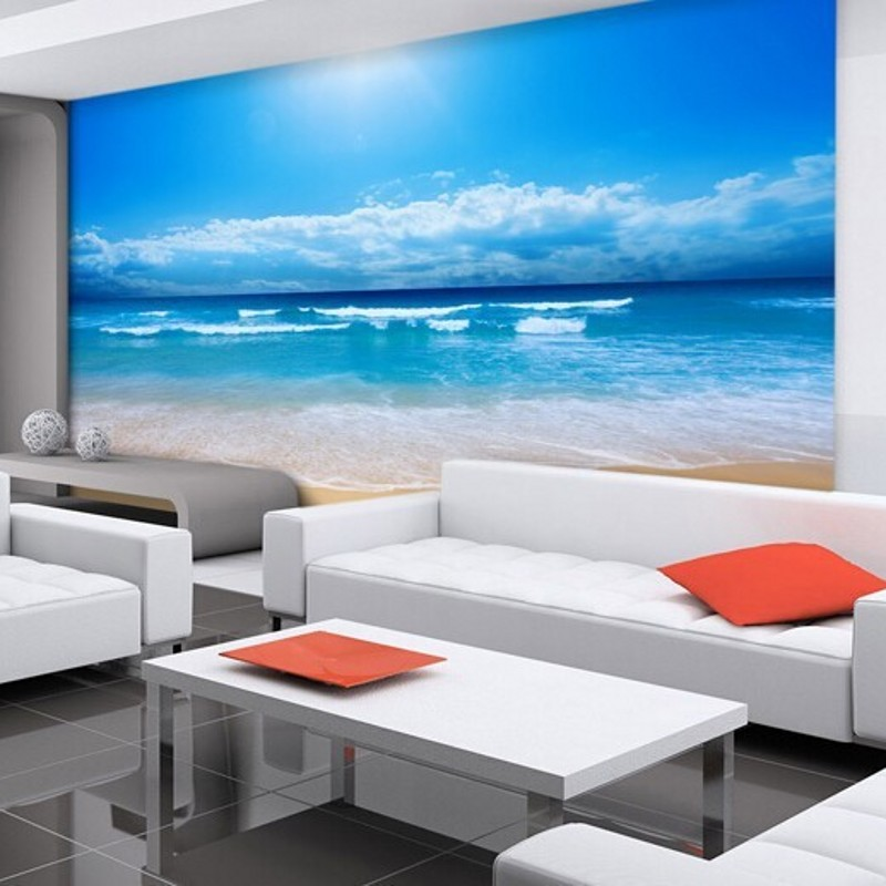 Online get cheap ocean wall murals for Cheap wall mural wallpaper