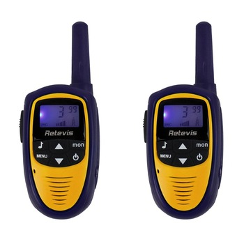 2PCS Retevis RT31 Children's Walkie Talkie 22CH 0.5W UHF LCD Display Two Way Radio For Kids A9112L U.S Frequency Christmas Gift