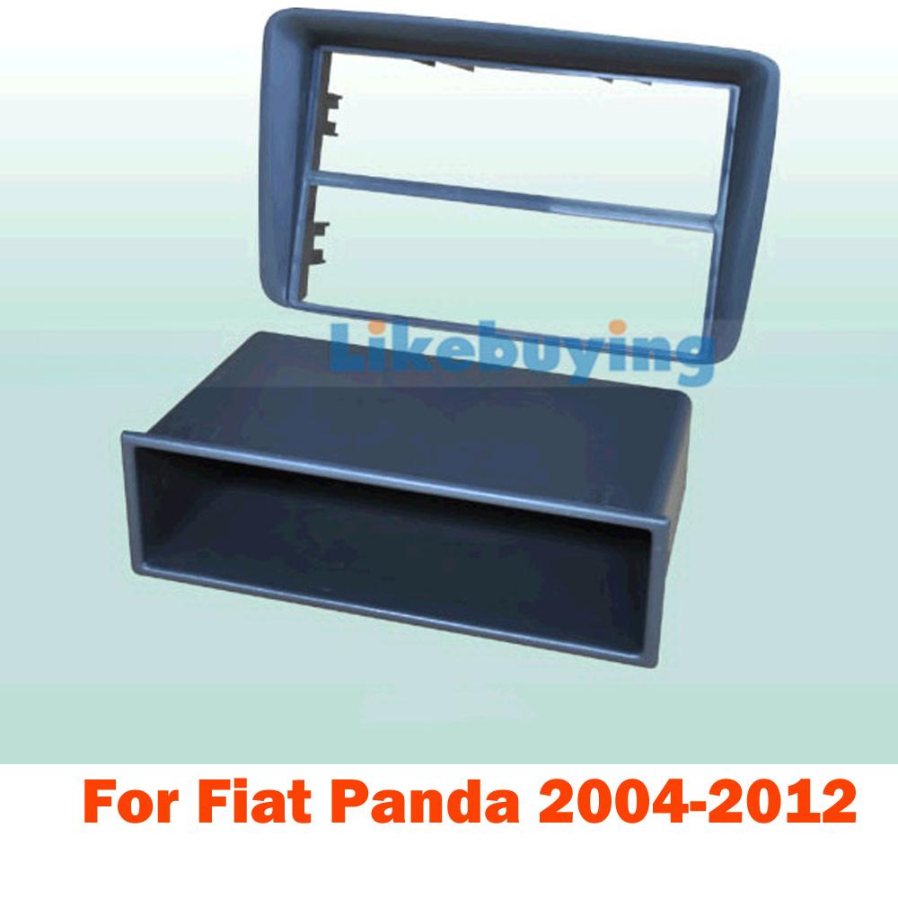 1 Din Car frame kit / Car Fascia Panel / Audio Panel Frame / Car Dash Kit For Fiat Panda 2004 -2012 Retail/Pcs Free Shipping<br><br>Aliexpress