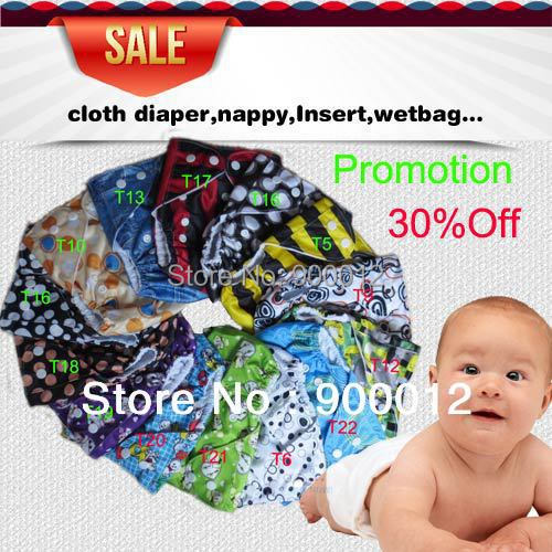Single Snap Diaper Covers For Promotion Cloth Diaper one pockert nappies Without Inserts 200 Pcs Free Shipping<br><br>Aliexpress