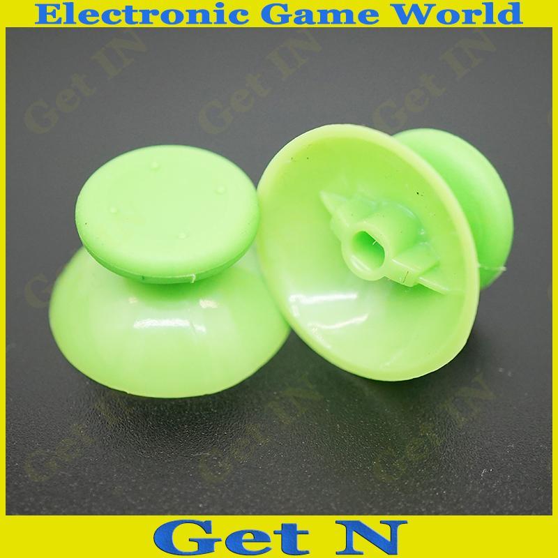 250pcs Green Thumbsticks Grips Rubber Buttons For xbox 360 Controller Analog Stick Joysticks Buttons for xbox360 Controller<br><br>Aliexpress