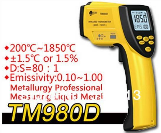 Прибор для измерения температуры Tecman High/End Rs232 200 c /1850 c 80 TM980D