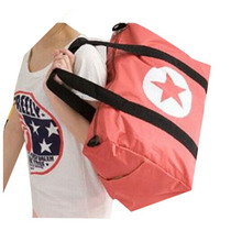 New Waterproof Large Capacity Luggage Five-Pointed Star Travel Bag For Women Men 4 Colors(China (Mainland))